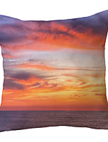 cheap -Landscape Double Side Cushion Cover 1PC Soft Throw Pillow Cover Cushion Case Pillowcase for Bedroom Livingroom Superior Quality Machine Washable  Outdoor Cushion for Sofa Couch Bed Chair