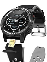 cheap -M7S 4G Smartwatch Fitness Running Watch Bluetooth IP68 Waterproof Touch Screen Heart Rate Monitor Pedometer Call Reminder Activity Tracker 49.5mm Watch Case for Android iOS Men Women