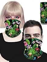 cheap -Men's / Unisex Active Rectangle Scarf - Floral 3D Print