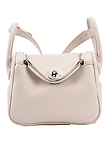 cheap -Women's Bags PU Leather Top Handle Bag Date Office & Career 2021 White Yellow Black Orange