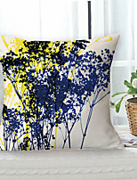 cheap -Garden Pastoral Double Side Cushion Cover 1PC Soft Decorative Square Throw Pillow Cover Cushion Case Pillowcase for Sofa Bedroom Livingroom Outdoor Superior Quality Machine Washable Outdoor Cushion for Sofa Couch Bed Chair