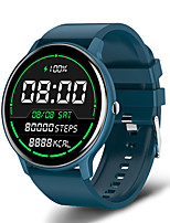 cheap -LIGE BW0223 Smartwatch Fitness Running Watch Stopwatch Pedometer Sleep Tracker Waterproof Touch Screen Blood Pressure Measurement IP 67 45mm Watch Case for Android iOS Men Women / Sedentary Reminder