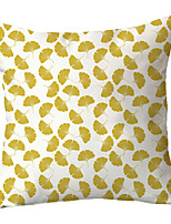 cheap -Ginko Garden Double Side Cushion Cover 1PC Soft Decorative Square Throw Pillow Cover Cushion Case Pillowcase for Sofa Bedroom Livingroom Outdoor Superior Quality Machine Washable Outdoor Cushion for Sofa Couch Bed Chair