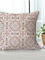 cheap -Garden Geometric Double Side Cushion Cover 1PC Soft Decorative Square Throw Pillow Cover Cushion Case Pillowcase for Sofa Bedroom Livingroom Outdoor Superior Quality Machine Washable Outdoor Cushion for Sofa Couch Bed Chair