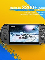 cheap -X1/X9/X12 PSP Reminisced GBA/NES handheld game console 5 inch large screen handheld
