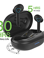 cheap -TS08 True Wireless Headphones TWS Earbuds Bluetooth5.0 Ergonomic Design with Microphone IPX5 for Apple Samsung Huawei Xiaomi MI  Everyday Use Traveling Outdoor Mobile Phone