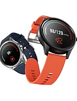 cheap -DT NO.1 DT55 Smartwatch Fitness Running Watch Bluetooth IP68 Waterproof Touch Screen Heart Rate Monitor Stopwatch Pedometer Call Reminder for Android iOS Men Women / Blood Pressure Measurement