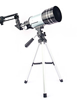 cheap -150 X 70 mm Telescopes Achromatic refractor Foldable Adjustable 98 m Multi-coated