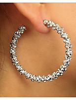 cheap -circle hoop earrings dangle earrings drop earrings simple jewelry