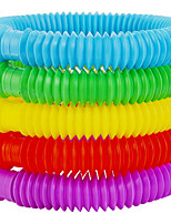 cheap -Fidget Pop Toys-Tube for Kids and Adults,Pipe Sensory Tools for Stress and Anxiety Relief, Cool Bendable Multi-Color Stimming Toys Great as Gift and Prizes for Fidgeters (5 Pack)