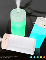 cheap -400ML USB Silent Air Humidifier Gentle Colorful Night Light Aroma Diffuser Continuous/Intermittent Spray Ultrasonic Humidifiers Aromatherapy Diffuser