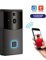 cheap -Smart 1080P HD Wireless WiFi DoorBell Video Door Phone Visual Intercom Rainproof Door Camera PIR Motion Detector