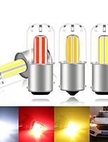 cheap -2PCS Car led Signal Lamp P21W Led Ba15s 1156 1157 Led Bay15d P21/5w Bulb NEW 2020SMD COB chips Canbus Turn Brake Backup Light 12V