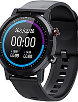 cheap -HAYLOU LS05S Smartwatch Fitness Running Watch Pedometer Call Reminder Sedentary Reminder Waterproof Sports Long Standby IP68 45mm Watch Case for Android iOS Men Women / Find My Device