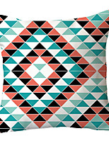 cheap -Geometric Double Side Cushion Cover 1PC Soft Decorative Square Throw Pillow Cover Cushion Case Pillowcase for Sofa Bedroom Livingroom Outdoor Superior Quality Machine Washable Outdoor Cushion for Sofa Couch Bed Chair