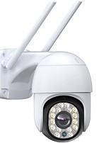 cheap -16 Lights Night Vision Security Camera Outdoor Auto-tracking Topcony 360 PTZ CCTV Camera Wireless WiFi IP Camera with 1080P 24/7 recording NVR/DVR Sound Alarm