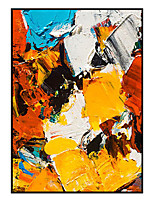 cheap -Oil Painting Handmade Hand Painted Wall Art Contemporary Colorful Abstract Large Size Home Decoration Decor Rolled Canvas No Frame Unstretched