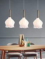 cheap -LED Pendant Light 22 cm Single Design Pendant Light Metal Nordic Style 110-240 V