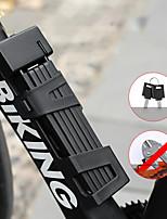 cheap -Bike Locks Portable Locking Security For Road Bike Mountain Bike MTB Folding Bike Recreational Cycling Cycling Bicycle Metal Black