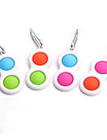 cheap -Squeeze Toy / Sensory Toy Push Pop Bubble Stress Reliever 1/4 pcs Portable Gift Cute Stress and Anxiety Relief For Kid's Adults' Boys and Girls Home Work