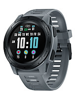 cheap -Zeblaze VIBE5 PRO Smartwatch Fitness Watch 1.3 inch Screen IP 67 Waterproof Touch Screen GPS ECG+PPG Pedometer Call Reminder 50mm Watch Case for Android iOS Men Women / Heart Rate Monitor / Sports