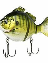 "cheap -fishing lure swimbait slow sink light bluegill 5"" 1 7/8 oz"