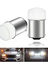 cheap -2pcs p21w bay15d ba15s P21/5W 1156 1157 led 3014 9SMD auto Brake light White red car led Bulbs rear Turn signal lamp parking 12v