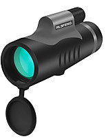cheap -10 X 42 mm Monocular Portable 131 m Multi-coated BAK4 Camping / Hiking / Caving Everyday Use Mountaineering
