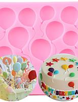 cheap -Balloons Shaped Silicone Cake Mold Sugar Craft Fondant Cake Tools Kitchen Baking Mold Chocolate Mold Cake Decoration Mold