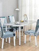 cheap -Nordic Simple Style Household Elastic Cne-piece Chair Set Integrated Dining Table Chair Set Four Seasons
