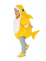 cheap -More Costumes Costume Kid's Boys' Funny & Reluctant Halloween Halloween Performance Christmas Halloween Children's Day Festival / Holiday Terylene Yellow / Blue / Pink Easy Carnival Costumes Solid