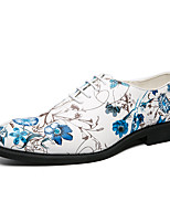 cheap -Men's Oxfords Business Casual Classic Daily PU White / Blue Spring Summer
