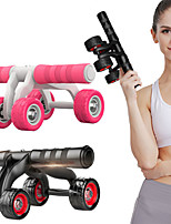 cheap -# Ab Wheel Roller Abdominal Workout Equipment with Comfortable Core Training Stretching PP+ABS Steel EVA for Yoga Fitness Gym Workout Waist Upper Arm Waist & Back