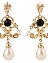 cheap -pearl dangle earrings drop earrings geometric sweet pearl boutique earrings