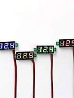 cheap -3pcs Mini Digital Voltmeter Voltage Meter 0.28 Inch 2.4V-30 LED Display Electronic Accessories Digital Voltmeter