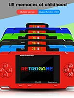 cheap -Mini Handheld Video Game Console PVP 3.0 Inch Retro Portable 8-Bit Game Machine Built-in 150 Classic Games Color Kid Player Gift