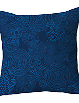 cheap -Blue Pattern Double Side Cushion Cover 1PC Soft Decorative Square Throw Pillow Cover Cushion Case Pillowcase for Sofa Bedroom Livingroom Outdoor Superior Quality Machine Washable Outdoor Cushion for Sofa Couch Bed Chair
