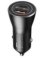 cheap -Remax 36 W Output Power USB USB C PD Charger Car USB Charger Socket For iPad Cellphone