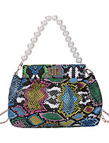 cheap -Women's Bags Top Handle Bag Office & Career Retro Black Khaki Brown Rainbow