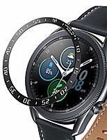 cheap -stainless steel bezel, aomigell 45mm bezel styling for galaxy watch 3,adhesive cover anti scratch protective case compatible for samsung galaxy watch 3 45mm