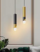 cheap -LED Pendant Light Black Gold Bedside Light Kitchen Island Light 6 cm Lantern Desgin Metal Electroplated Painted Finishes Modern 220-240V 110-120V