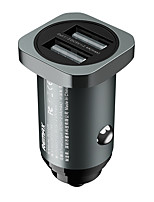 cheap -Remax 25 W Output Power USB Car USB Charger Socket For iPad Cellphone