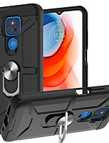 cheap -Armor Phone Case For Moto G Power Moto G Stylus Moto G9 Play Moto G9 Plus Shockproof Dustproof TPU Back Cover with Ring Holder Kickstand