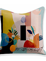 cheap -Painting  Double Side Cushion Cover 1PC Soft Throw Pillow Cover Cushion Case Pillowcase for Sofa Bedroom Livingroom Superior Quality Machine Washable  Outdoor Cushion for Sofa Couch Bed Chair