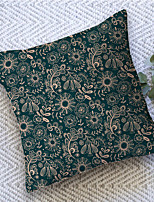 cheap -Vintage Garden Double Side Cushion Cover 1PC Soft Throw Pillow Cover Cushion Case Pillowcase for Sofa Bedroom Livingroom Superior Quality Machine Washable  Outdoor Cushion for Sofa Couch Bed Chair