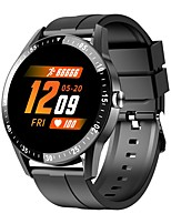 cheap -S1 Smartwatch Fitness Running Watch IP 67 Heart Rate Monitor Blood Pressure Measurement with Camera Stopwatch Pedometer Sleep Tracker 48mm Watch Case for Android iOS Men Women / Sedentary Reminder