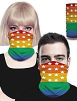 cheap -Men's / Unisex Active Rectangle Scarf - Color Block 3D Print