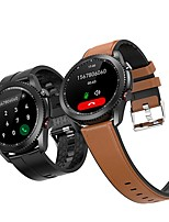 cheap -T40 Smartwatch Fitness Running Watch 1.3 inch Screen IP 67 Heart Rate Monitor Blood Pressure Measurement Body Temperature Test ECG+PPG Pedometer Call Reminder 45mm Watch Case for Android iOS Men Women