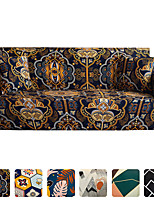 cheap -Stretch Sofa Cover Slipcover Elastic Sectional Couch Armchair Loveseat 4 or 3 seater L shape Boho Soft Durable Washable