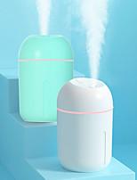 cheap -Home Humidifier 330ML Capacity USB Air Humidificador Aroma Essential Oil Diffuser Lamp Safe Air Purifier Fogger